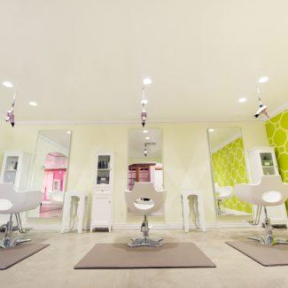 austin hair salon interior